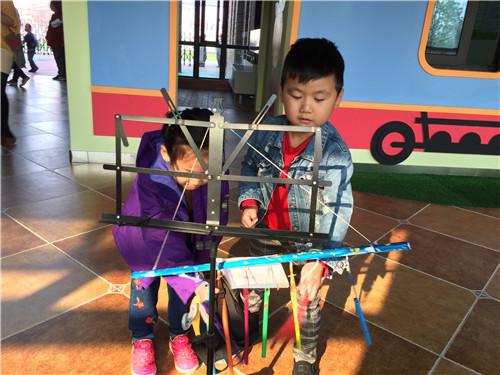 外国语幼儿园亲子乐器制作大赛