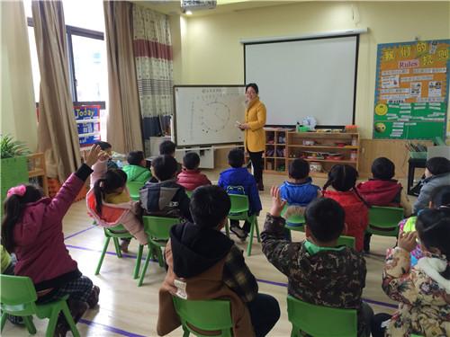 外国语幼儿园家长助教活动